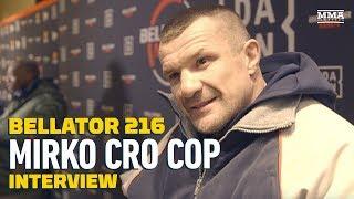 Mirko Cro Cop discusses returning from his knee injury, fighting Ro...