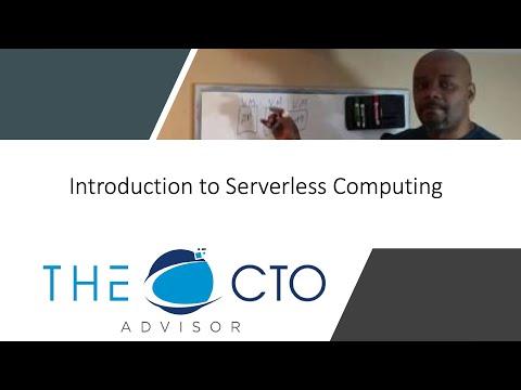Intro to Serverless Computing
