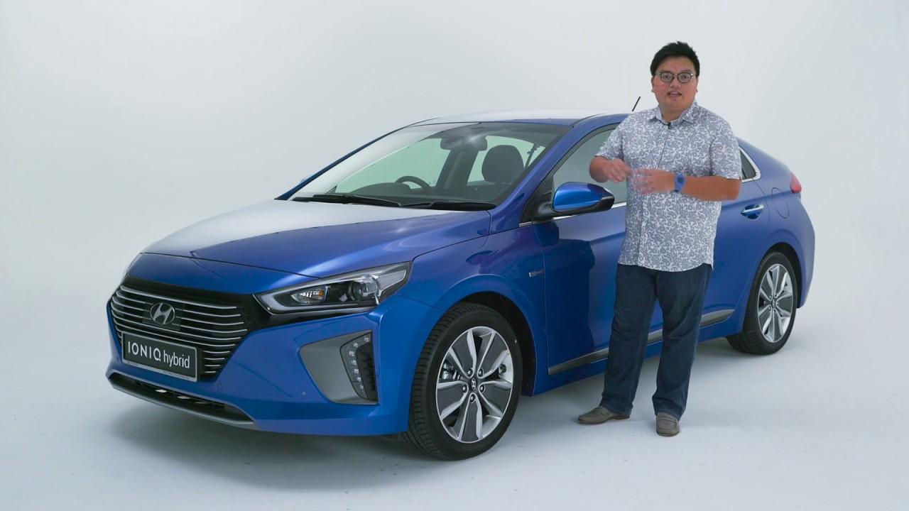 Hyundai Ioniq Hybrid Malaysian walk-around video