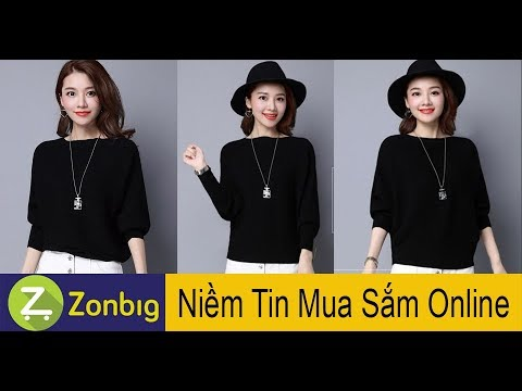 [Zonbig.com] – Áo Len Cánh Dơi Độc Lạ