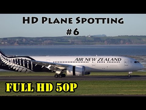 Morning Aircraft Movements - HD Plane Spotting #6 | Auckland Airport AKL/NZAA