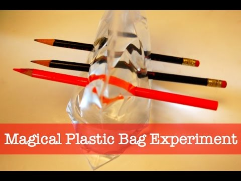 Leak proof ziplock bag experiment - YouTube