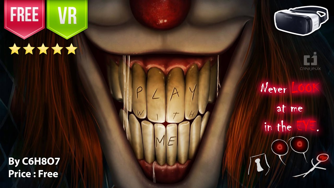 18b04a534f8a Play With Me for Gear VR - Never Look at me in the EYE. Scary! (Free) -  YouTube