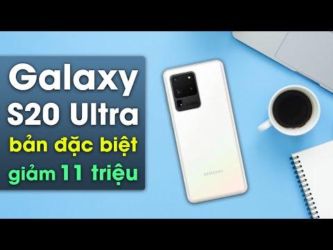 Trải nghiệm Galaxy S20 Ultra bản giới hạn Trắng Thiên Vân rẻ hơn 13 triệu