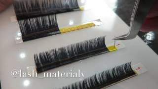 Формирование пучков! Объёмное наращивание ресниц! volume eyelash extensions !