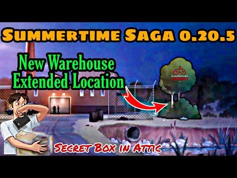 Summertime saga 0.20.5 Update | New Warehouse Extended Location & Secret Box in Attic