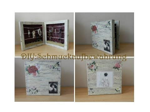 diy schmuckaufbewahrung jewellery box youtube. Black Bedroom Furniture Sets. Home Design Ideas