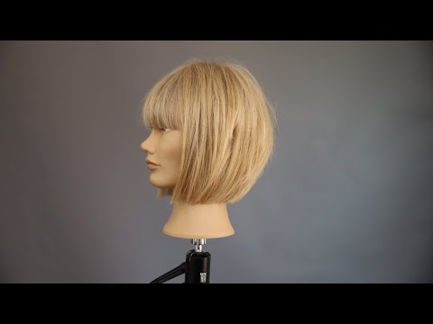 LEARN How To Cut A LAYERED CLASSIC A-LINE BOB Tutorial By Ben Brown
