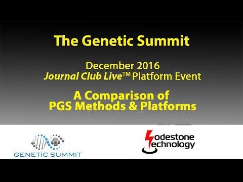 Lodestone Technology's Genetic Summit Journal Club Live™ Platform Event: Comparison of PGS Methods