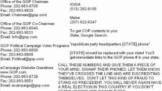 Caucus Election Voter Fraud Corrupt Republican Party Tyranny Blatant Suppression of Ron Paul