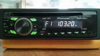 Настройка радиостанций на магнитолах Pioneer