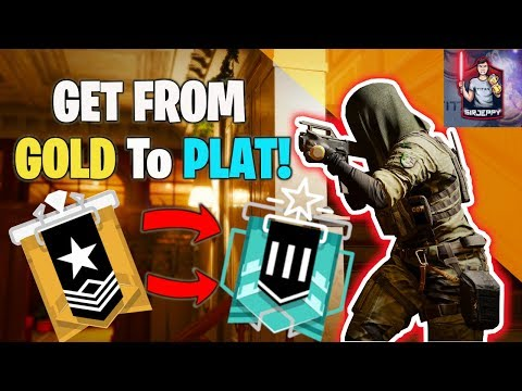 What It Takes To Get OUT Of Gold And INTO Plat In Rainbow Six Siege Ranked!