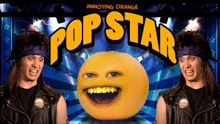 Annoying Orange Hfa - Pop Star (ft. Tobuscus)