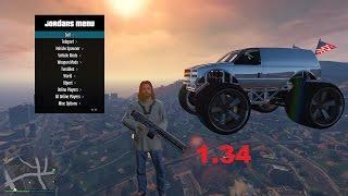 GTA V PC Online 1.34 Mod Menu Jordans v2.6