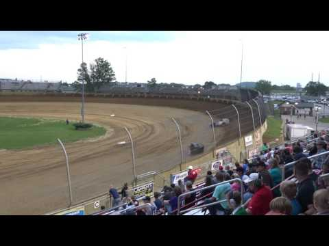 Lawrenceburg Speedway | 5.20.17 | UMP Modifieds | Heat 3
