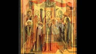 აწ განუტევე მონა შენი Lord,now lettest ხმა დ in  tone IV გელათის სკოლა Gelati school ანჩისხატის ტაძრის მგალობელთა გუნდი Anchi