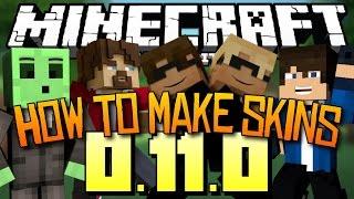 Minecraft PE: How To Make Skins!