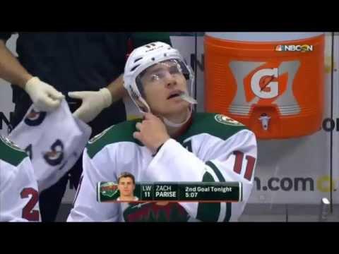 Minnesota Wild 4 Goals in 5:07 vs Colorado- Full Comeback (10/8/15)