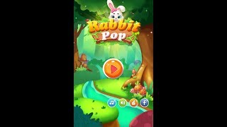 Rabbit Pop- Bubble Mania V2.0.10 | Mod Apk | Casual Game | Android Gameplay