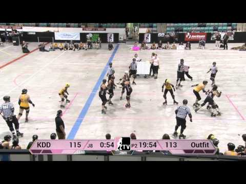 WFTDA Roller Derby: 2014 Division 2 Playoffs, Kitchener: Kalamazoo vs. Chicago Outfit
