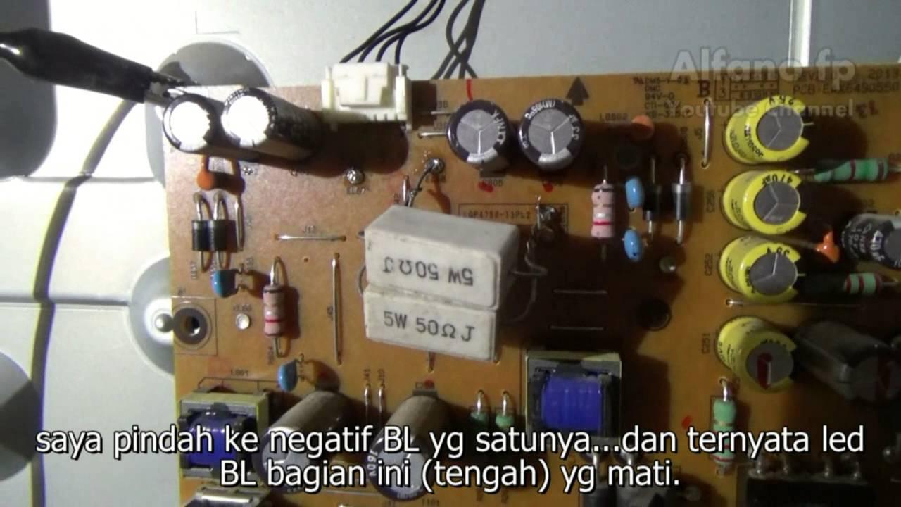 Memperbaiki Tv Led Lg 47 Inchcara Membuka Dari Case Sampai 49 Inch 49lh511t Hitam Backlight Youtube