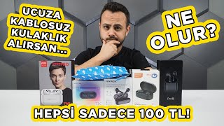 100 TL'nin ALTINDAKİ KABLOSUZ KULAKLIKLARI İNCELEDİM!