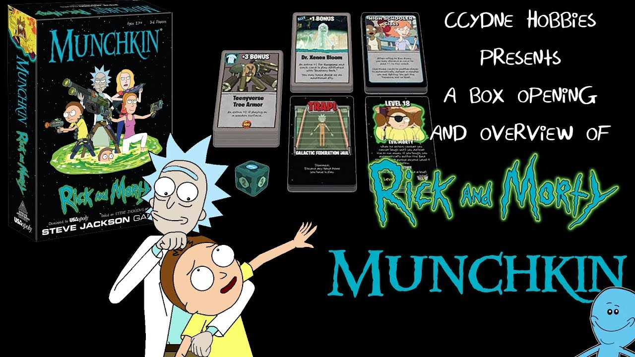 CCYDNE Hobbies Rick and Morty Munchkin - YouTube
