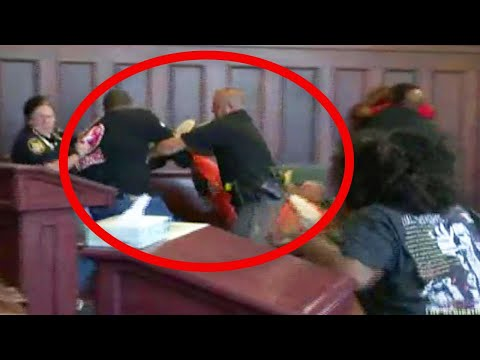Brothers Attack Moms Killer in Court During Sentencing
