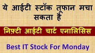 ये आईटी  स्टॉक तूफान मचा सकता है !! Best IT Stock For Monday