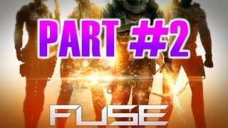 Fuse (2013) Video Game - Gameplay Walkthrough Part 2 - Chapter 2: Worms in the Apple