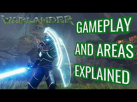 WARLANDER - A Closer Look At Gameplay, Character Progression And Areas