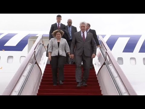 Cuban President Arrives in Shanghai for China's First Import
