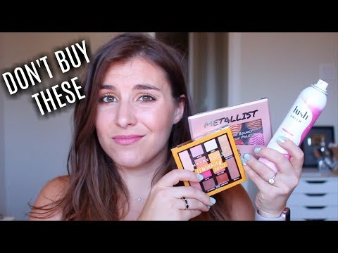 Makeup That Didn't Work For Me | Bailey B.