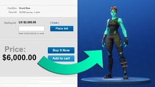 A CHARACTER BOUGHT A FORTNITE ACCOUNT ON EBAY AND GOT...!!! Reaction