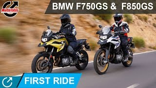 Adventure Ride With New BMW F750GS &  F850GS  | First Ride Review | Auto Today