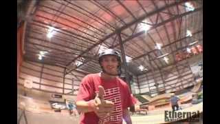 Ethernal Skate Films / Skateboard Video @ Taz Skatepark Montreal (Winter 2012)