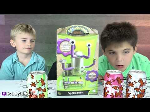 BIGFOOT CREEPS OUT KIDS! Toy Surprises + Science Family Fun HobbyKidsTV