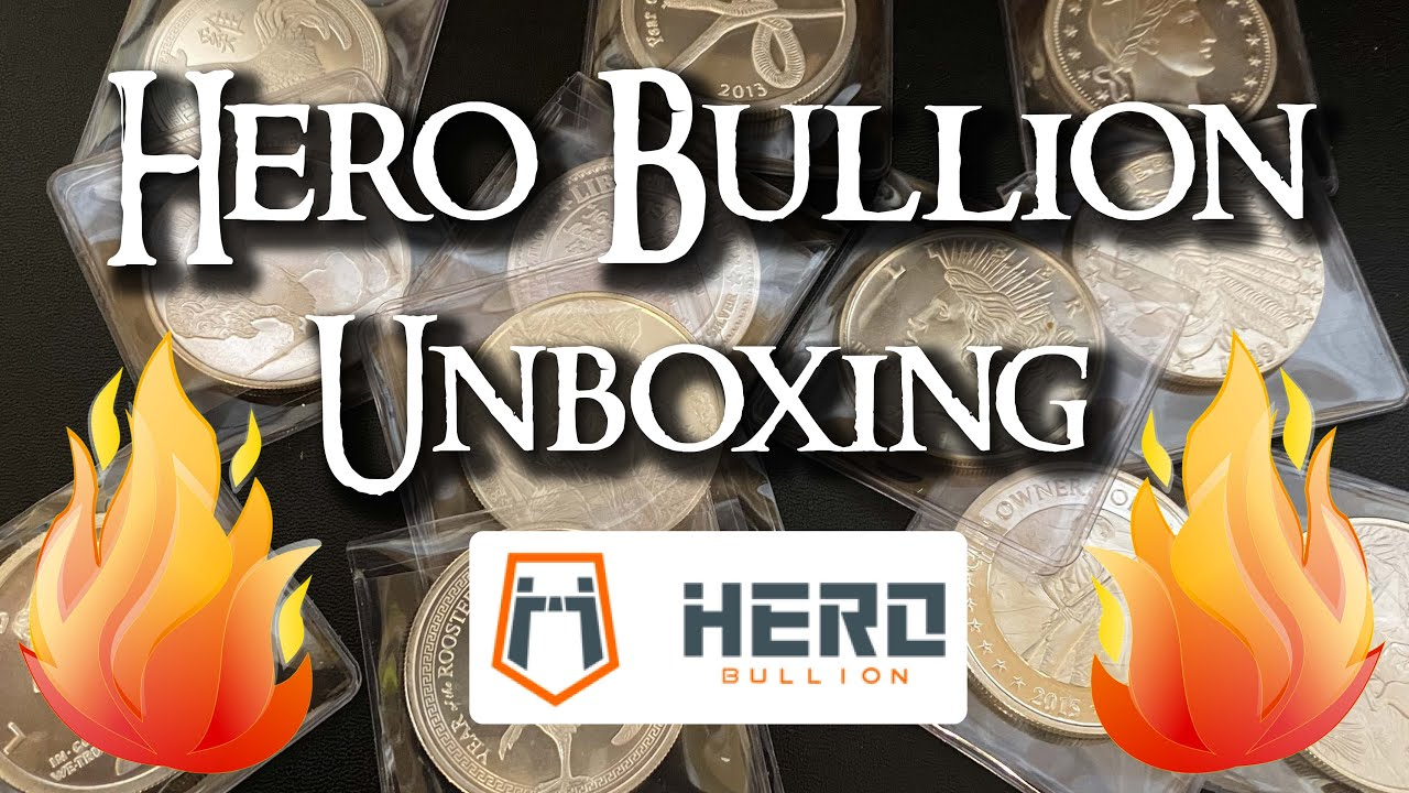 Hero Bullion - World's FIRST Order and Unboxing!