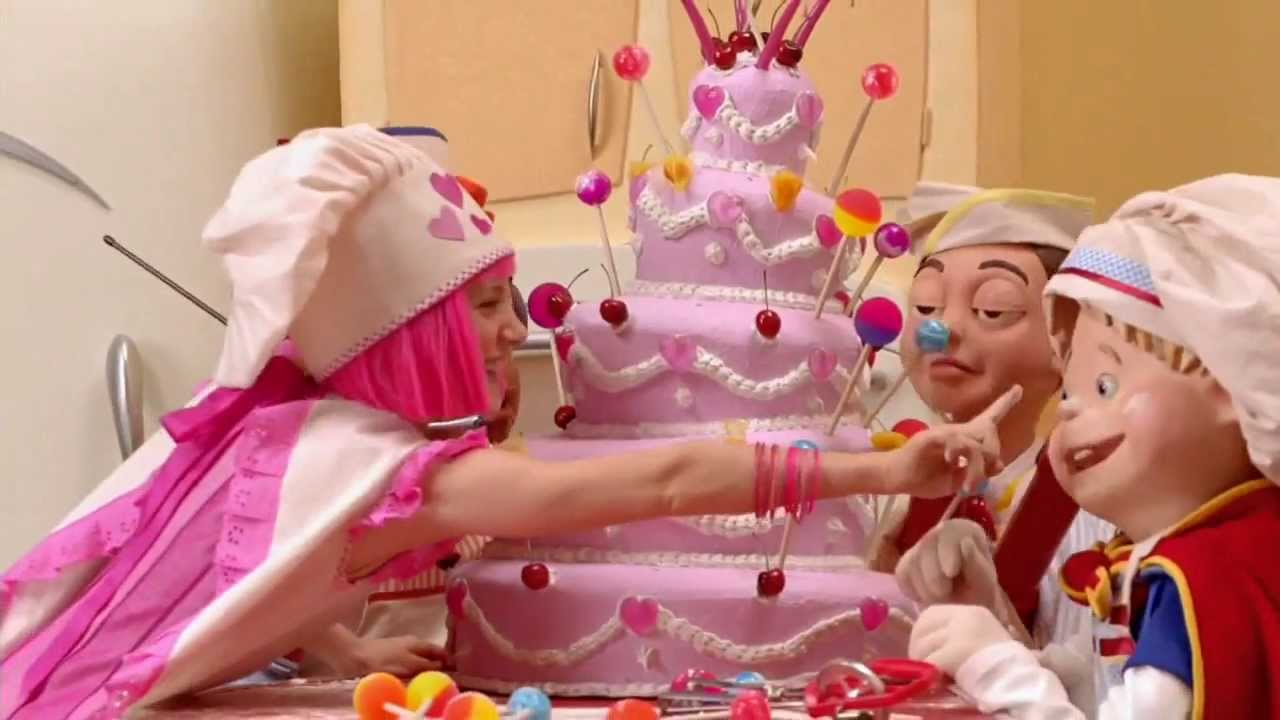 Lazy Town Cake Images