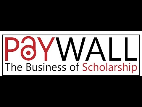 Paywall: The Business of Scholarship Trailer