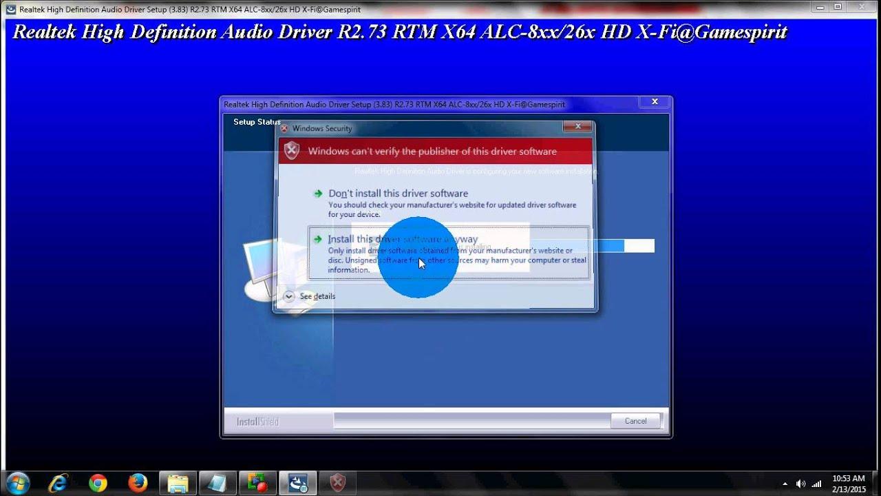 REALTEK ALCXXX DRIVERS WINDOWS XP