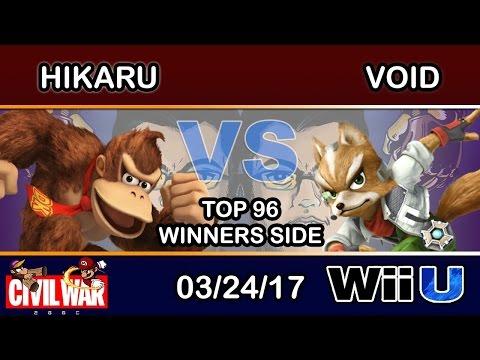 2GGC: Civil War - Hikaru (Donkey Kong) Vs. CLG | VoiD (Sheik) Top 96 Winners Side