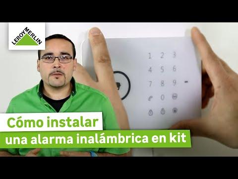 Cómo instalar una alarma inalámbrica en kit (Leroy Merlin)