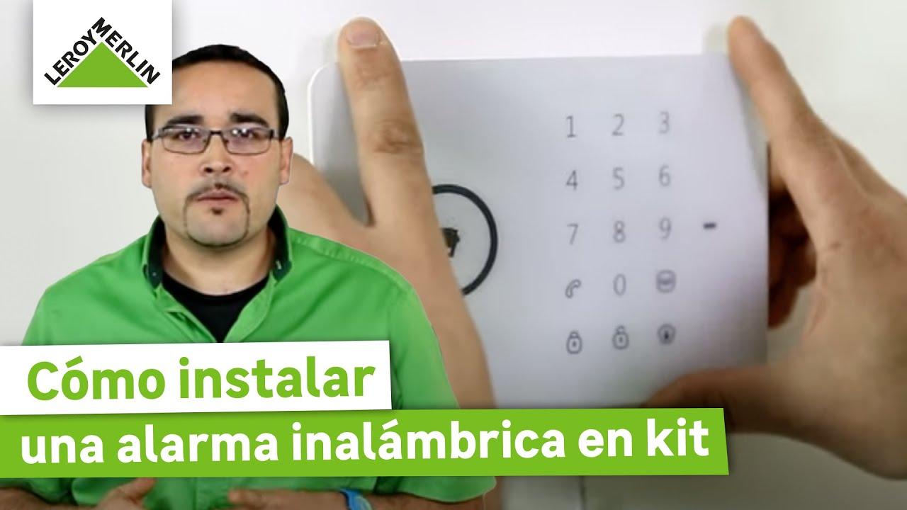 Cómo Instalar Una Alarma Inalámbrica En Kit (Leroy Merlin)   YouTube