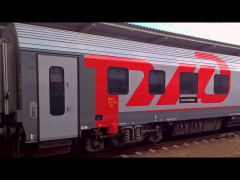 Siemens Sleeping Cars for Moscow to Paris and Helsinki Trains - новых спальные вагонов RIC