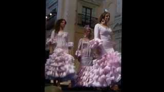 Desfile de trajes de flamenca AFANAS