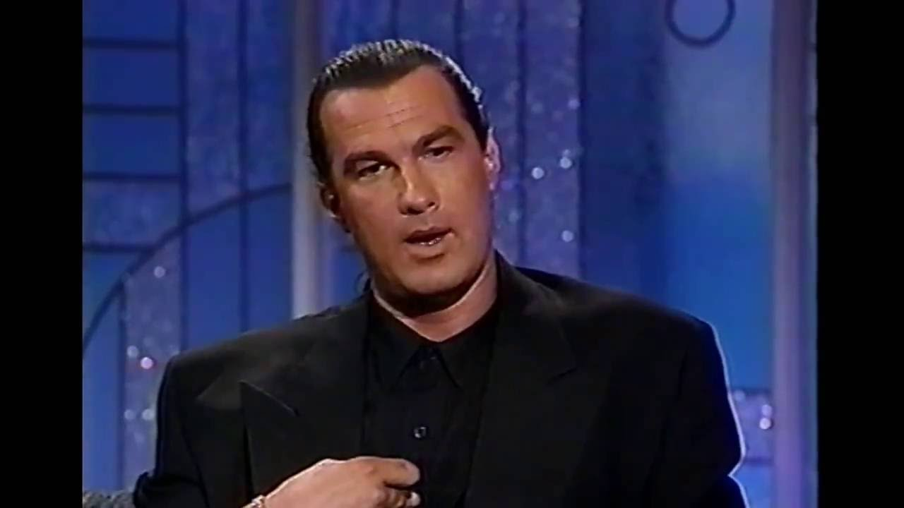 STEVEN SEAGAL SETS the...