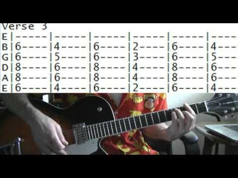 guitar lessons online Prince little red corvette tab - YouTube