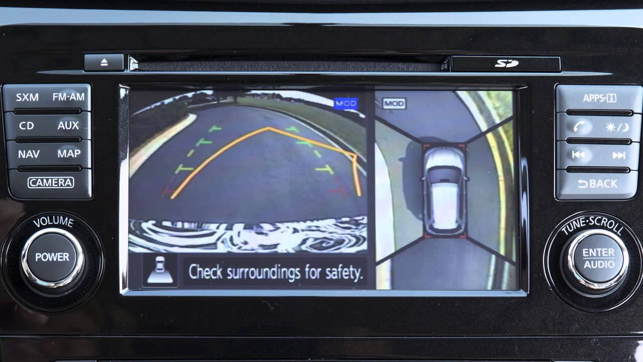 2015 Nissan Rogue - Around View® Monitor with Moving ...