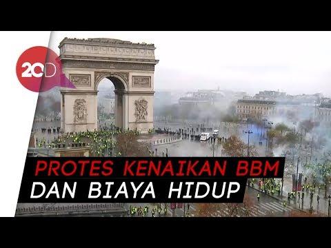 Demo 'Rompi Kuning' di Paris Rusuh, 60-an Orang Terluka Mp3